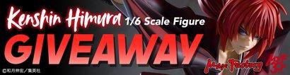 Kenshin Himura 1/6 Scale Figure GIVEAWAY
