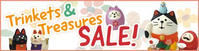 Trinkets & Treasures Sale