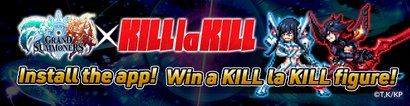 Grand Summoners x KILL la KILL Giveaway