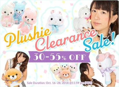 Plushies clearance sale
