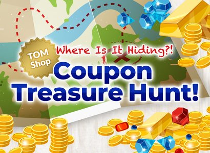 Coupon Treasure Hunt