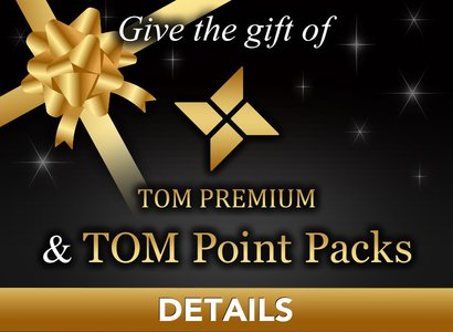 TOM Premium Gifts & Point Packs