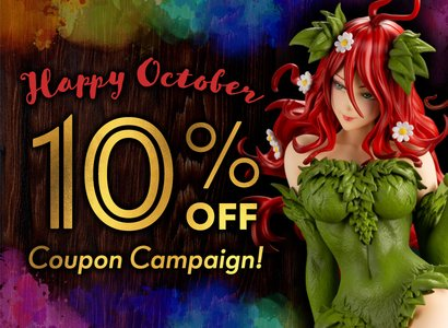 Happy October Coupon Campaign