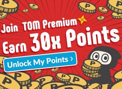 TOM Premium Exclusive! 30X TOM Points Event!