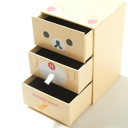 Korilakkuma desk organizer face - Cute desk organizer ...