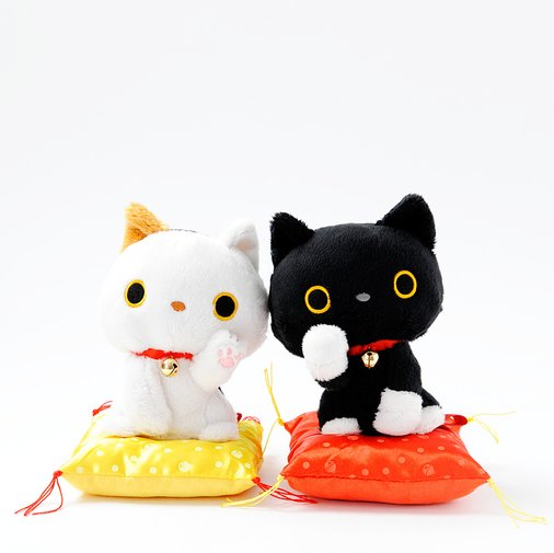 Lucky Black Cat Plastic