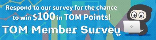 TOM Member Survey Subhero