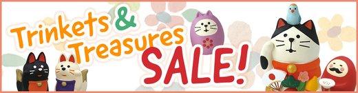 Trinkets & Treasures Sale