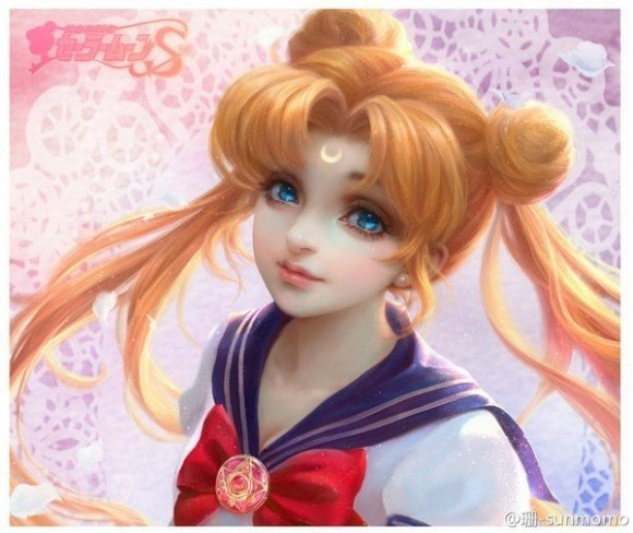 Gorgeous Sailor Moon Fan Art Makes Us Fall In Love With -5269