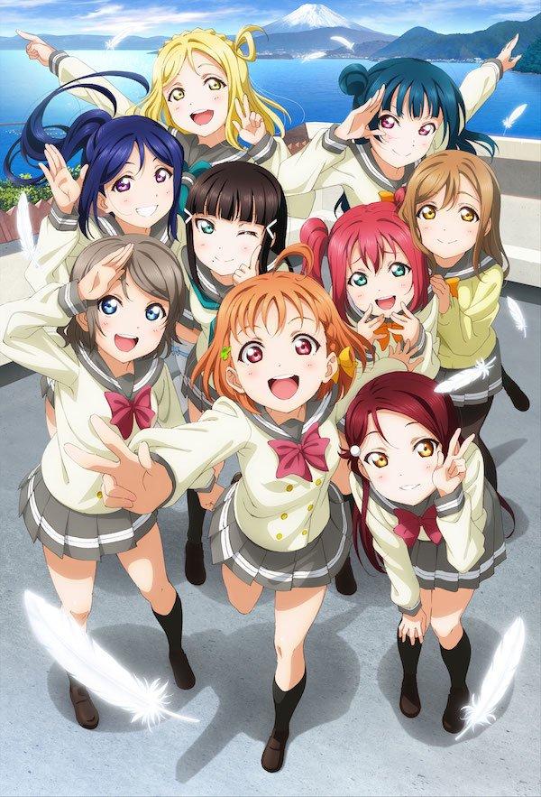 5b60f0b3f7 Love Live! Sunshine!! is an anime series which began airing in 2016. Nine  girls going to Uranohoshi Girls  High School