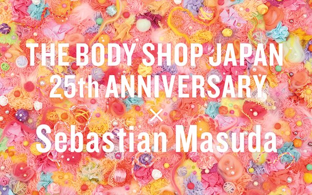 Bright Cute Collaboration Items Celebrating 25 Years Of The Body Shop In Japan Product News Tom Shop Figures Merch From Japan
