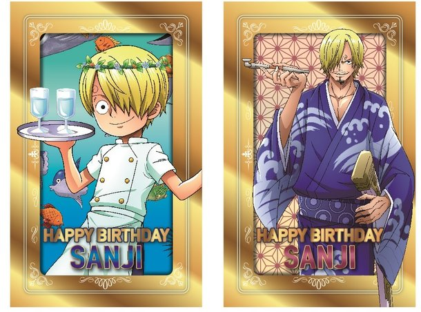 Sanji Birthday Party At Tokyo One Piece Tower In March Event News Tom Shop Figures Merch From Japan
