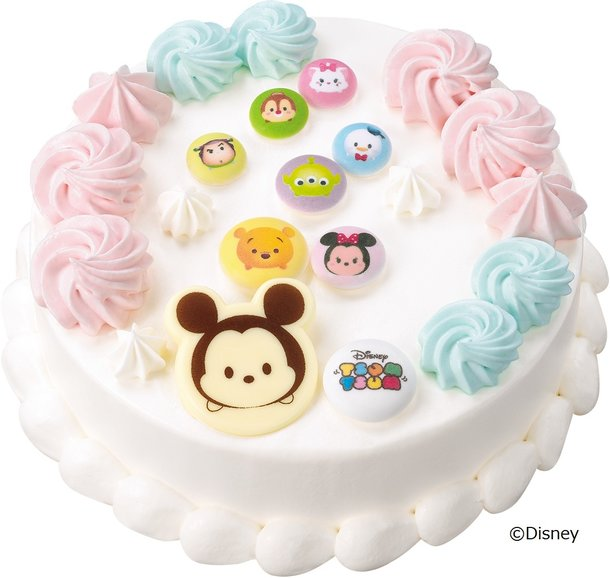 Take a Bite of These Cute Character Ice Cream Cakes from Baskin