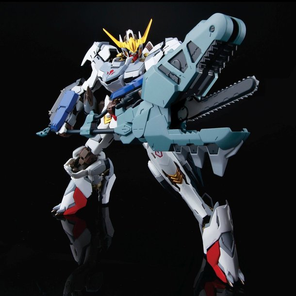 Gundam Barbatos Recreated as High-Res Model Based on End of Iron ...