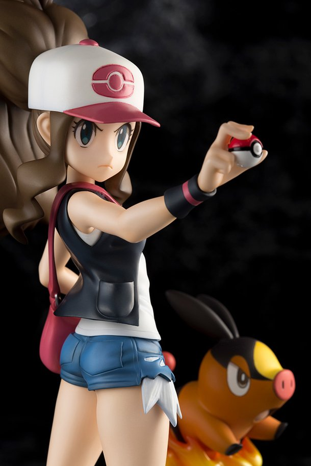 Hilda \u0026 Tepig Join Kotobukiya's Pokémon