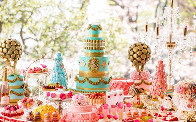 Marie Antoinette-Themed Buffet to Open at Tokyo Hilton!