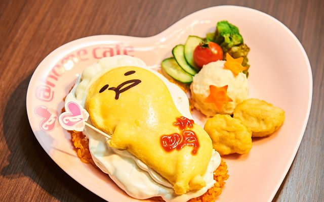 Gudetama x Maid Cafe Collab [Photo Report @home cafe]