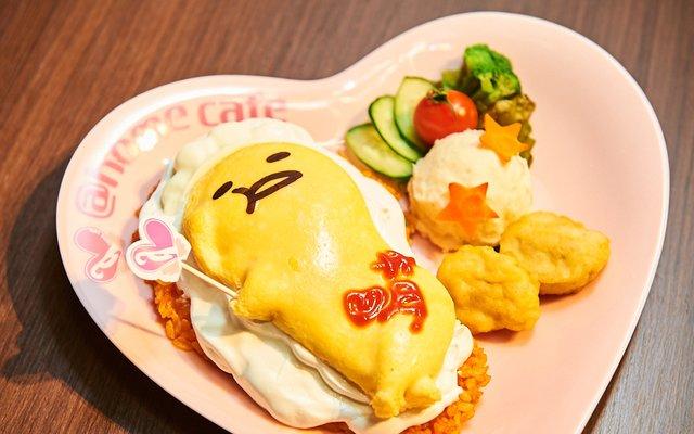 Gudetama x Maid Cafe Collab [Photo Report @home cafe]