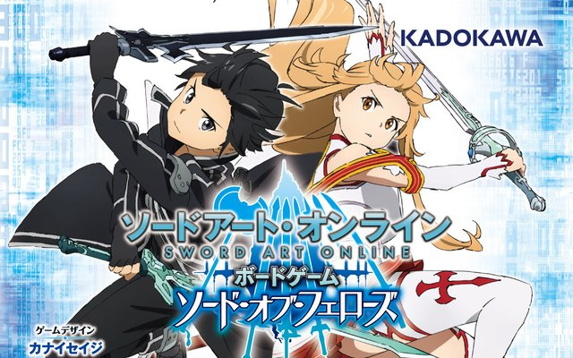 Sword Art Online Board Game Designed by Kanai Seiji Coming This Summer!
