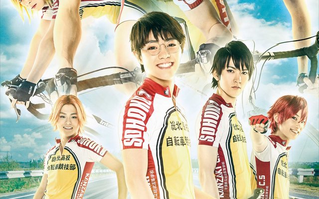 First Key Visual for New Yowamushi Pedal Stage Play Released!