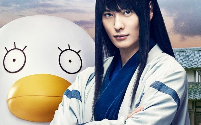 Gintama Live-Action Movie Reveals Katsura and Elizabeth Visual!