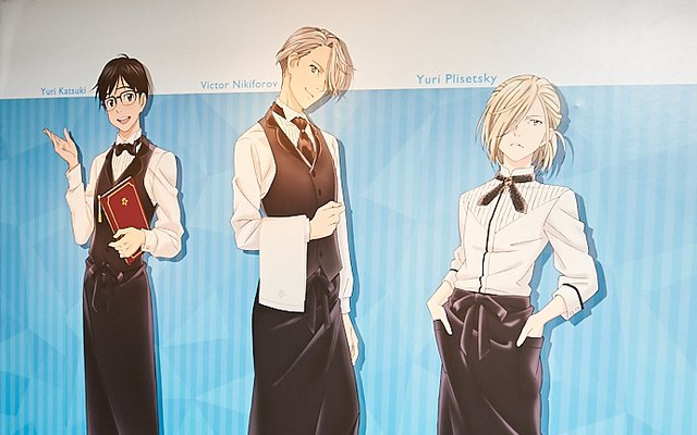 YURI!!! on ICE Cafe Makes History in Tokyo! [Photo Report]