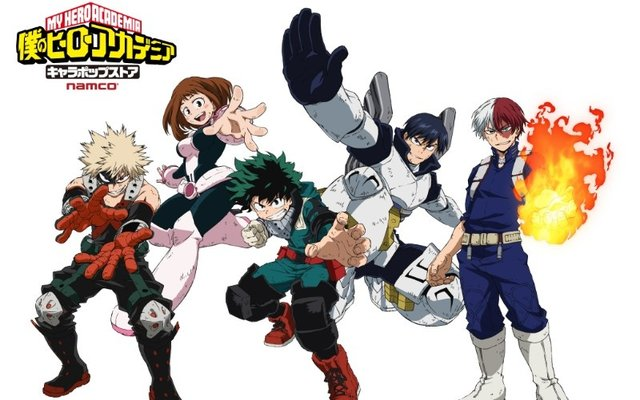 My Hero Academia to Open Pop-Up Store in Three Cities!
