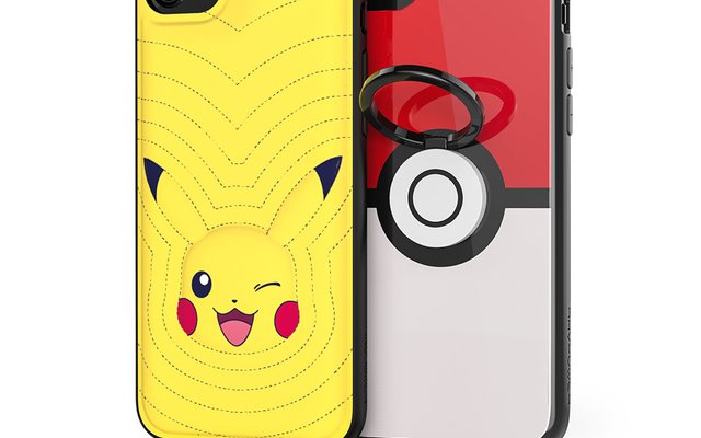 Catch 'Em All with Pikachu and Poké Ball iPhone Cases!