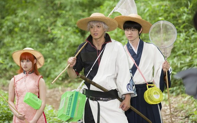 See the Gintama Live Action Cast Behind the Scenes!