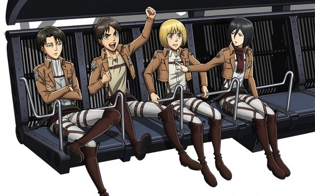 Titans Hit the Highlands! Attack on Titan Ride Arrives at Fuji-Q!