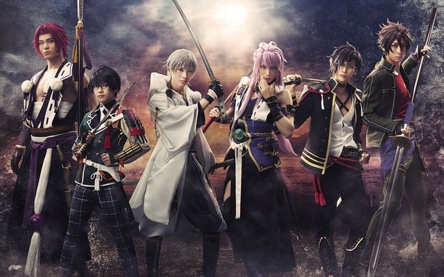 Touken Ranbu Musical Releases Key Visual Featuring 4 Newcomers!