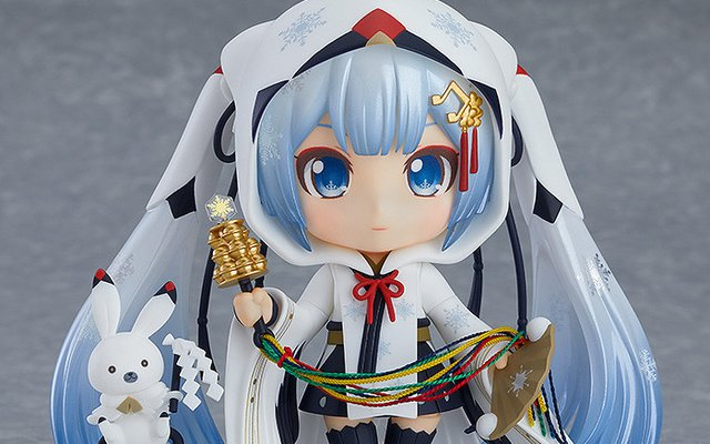 Snow Miku Blesses Fans With New Nendoroid and Figma!