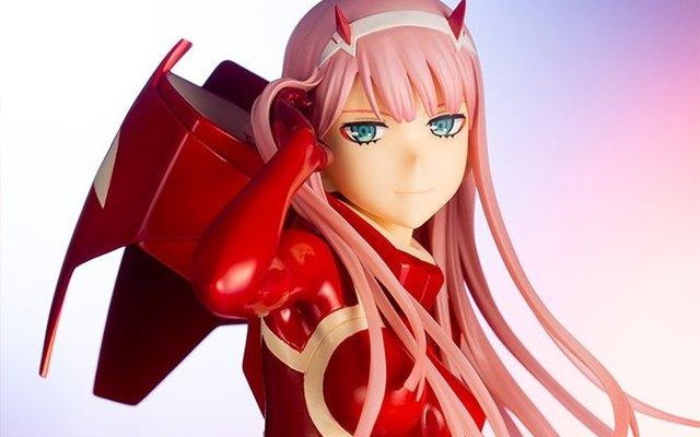 Zero Two is Your Darling in the FranXX in Beautiful New Kotobukiya Figure!