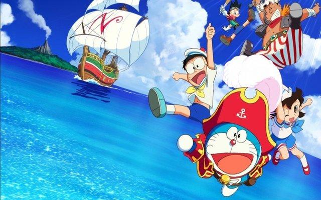Doraemon the Movie: Nobita's Treasure Island Releases Trailer Featuring Theme Song