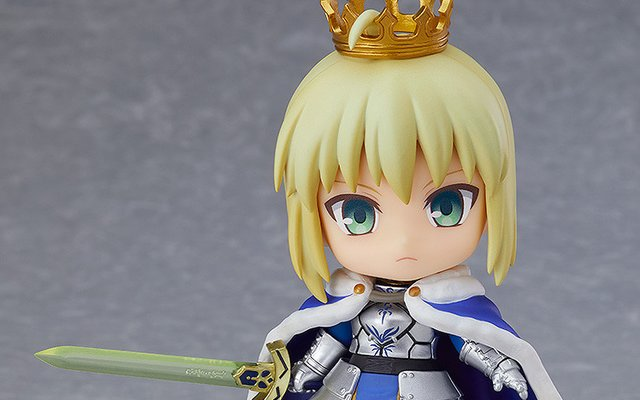 Bow Before the Might of a Fate/Grand Order Saber/Altria Nendoroid!