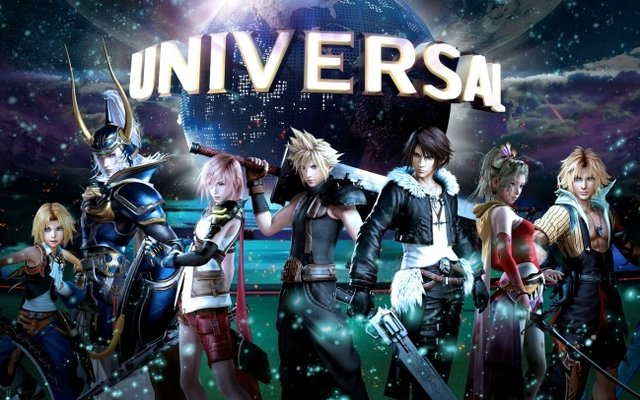 Ride the First Ever Final Fantasy Rollercoaster at Universal Cool Japan 2018!