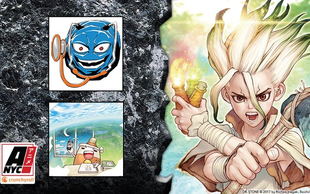 Dr. Stone Creators to Make First Joint Appearance at Anime NYC 2019!