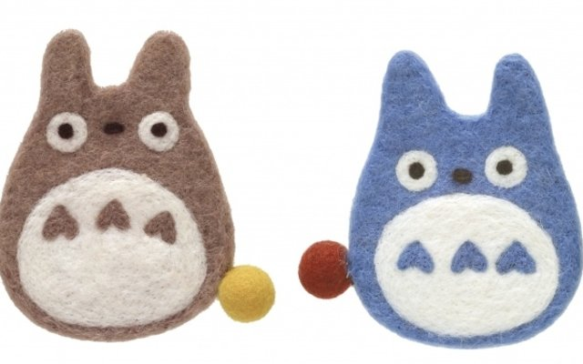 These Handmade Woolen Totoro Coasters Are Almost Too Cute to Use! ♡