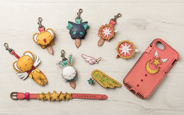 Cardcaptor Sakura and OJAGA DESIGN Release 2nd Lineup of Magical Leather Accessories!