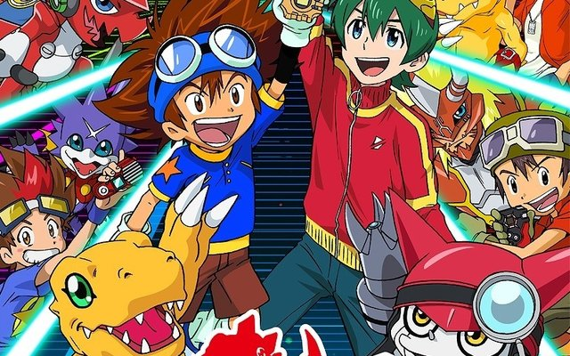 Digimon Reveals 20th Anniversary Visual!