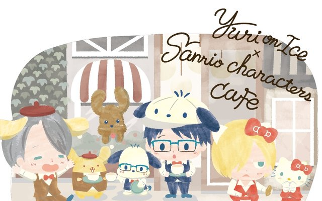 New Yuri!!! On Ice × Sanrio Characters Cafe is Utterly Irresistible!