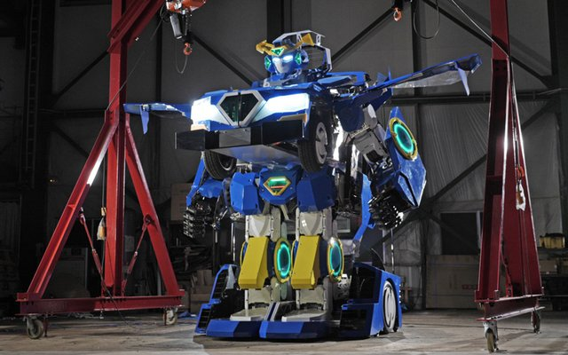 Operational and Transformable Robot J-deite RIDE To Debut At Tokyo Event On May 5!