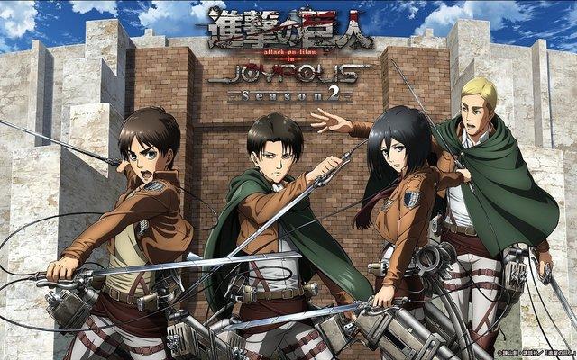 Attack on Titan Collaboration Returns to Tokyo Joypolis