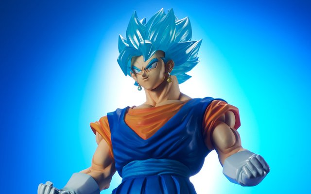 45cm super saiyan god super saiyan vegito figure released tokyo otaku mode news - Super sayen 10000 ...