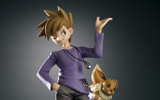 Blue and Eevee Are Ready to Battle in Newest ARTFX J Figure Set!