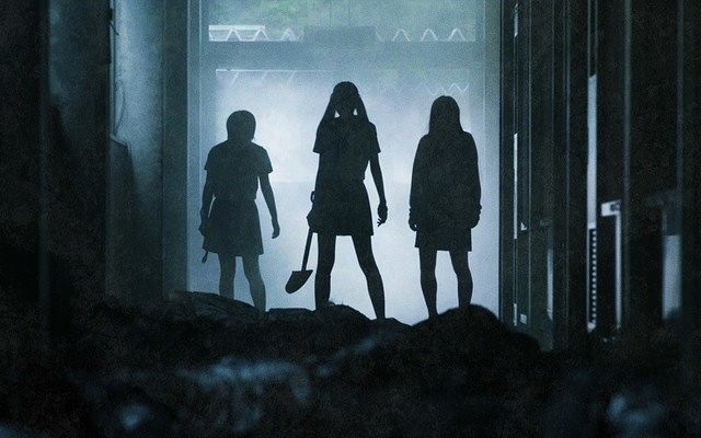 School-Live! Live Action Movie Releases Ominous Silhouette Visual