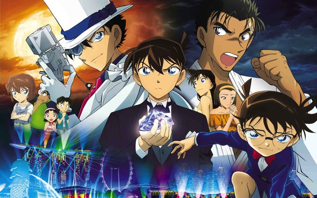 23rd Detective Conan Movie Unveils Main Visual!