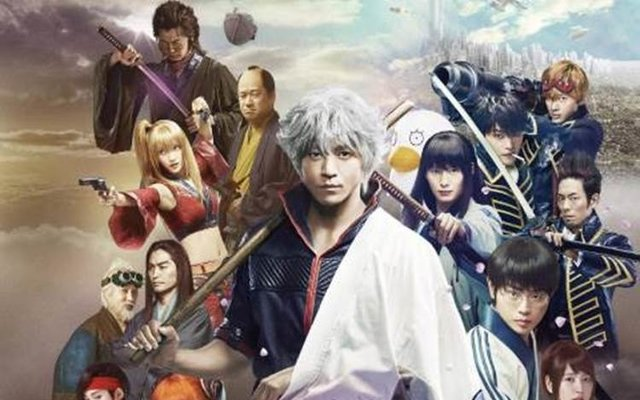 Gintama Live-Action Event to be Held at 3 Marui Locations!