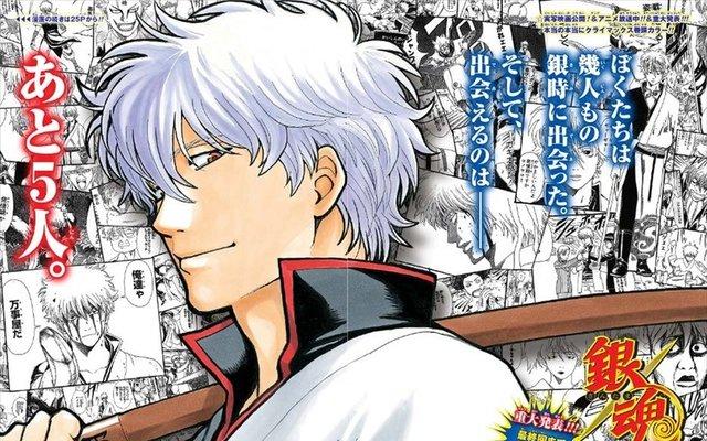 Gintama Manga to End 15-Year Run in 5 Chapters