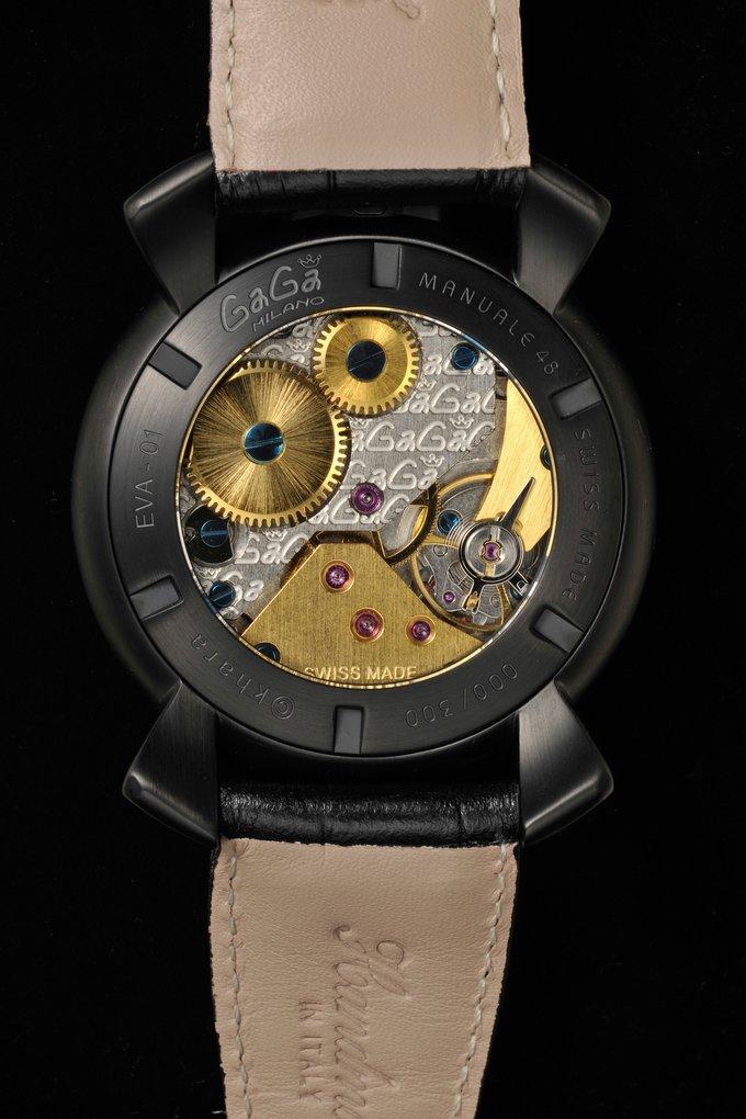 italian watch brand gaga milano collaborates with evangelion